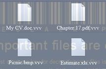 Fjern  og  dekrypter  .vvv  filutvidelses  virus