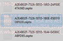 Zepto  virus:  fjerning  av  ransomware  og  dekryptering  av  .zepto  filer