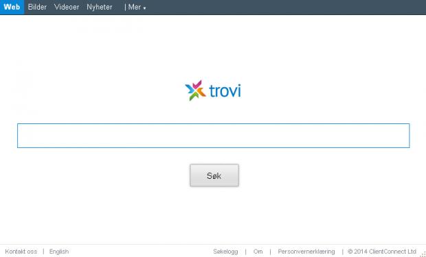 Trovi.com skjermbilde